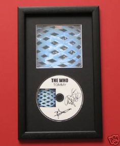 THE WHO - TOMMY CD DISC MEMORABILIA presentation